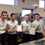 Proficiat Alfa College Hberg 2 teams uit een klas Junior Chef of the Year! Eerste + derde plaats. #weekbladdetoren http://t.co/2iBHMVlIZz