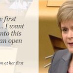.@NicolaSturgeon uses her first #FMQs to say she will listen to her political rivals http://t.co/dNjQzaXPox http://t.co/PleBuGxGgd
