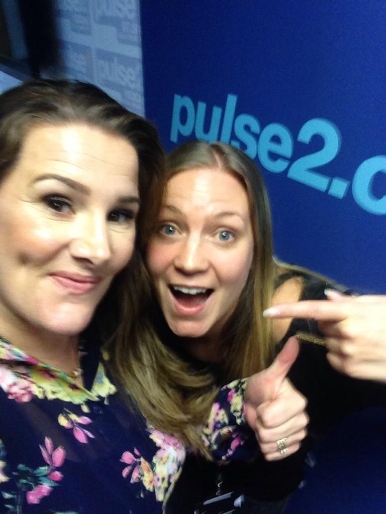 Lovely chatting to @SamBaileyREAL on @Pulse2Radio just now! Future #artistoftheweek enjoy your @foxs_biscuits! http://t.co/ZfGqdhdRw6