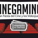 El sábado anterior a las vacaciones de Navidad, el cine y los videojuegos se encontrarán en CineCiutat. http://t.co/3yM1SSB1Yn