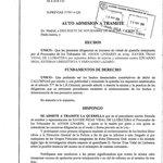 El jutjat de Madrid ha admès la querella contra el Mundo per calúmnies, i obre diligències. Aquí teniu lauto: http://t.co/1J52IKeY3M