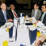 n/n Govt.Bank SBI-scrutiny for loan of 6200cr to Adani not yet done Look at Breakfast Table-SBI Chief with MODI+ADANI http://t.co/MhIzOygJ0h