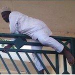When Angel Gabriel locks the gate before you arrive http://t.co/aHuATU43an