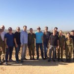 Today, #Hollywood producers visited a base near Gaza & heard about Hamass terror activity from IDF officials. http://t.co/COt3AfEUvv