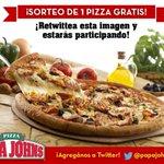 ¡RT esta imagen y estarás participando por una Pizza Gratis! ¡Tienen hasta el Lunes para participar! #MejorPizza http://t.co/VMeCJiTCuw