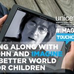 RT @yokoono: Join the whole world & sing #IMAGINE with this new @UNICEF App   https://t.co/UbRIfkfOFq & help change a child's life http://t…
