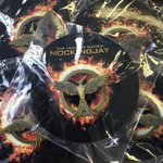 To celebrate todays #Mockingjay release, we have official pins to give away! Follow & RT for a chance to win! http://t.co/fY9Dtz7n2m
