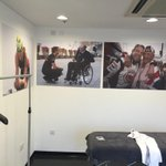 My drivers room at the circuit is pretty special this weekend, thanks @mikeycollier and @bbcf1 Very special memories. http://t.co/lKNF3lfA0X
