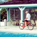Pops on vacation, mid 90s. He could ride a bike backwards. An odd talent that he was quite proud of. #TBT #ShowingOff http://t.co/DjgaP5T3Zx