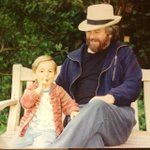 #tbt 91 with the father unit. Pimpin was easier back then. http://t.co/s0H5C17T0g