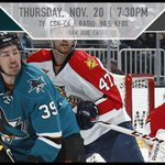 #SJSharks GAMEDAY is back in San Jose! #FLAvsSJS  RT for a chance to win tickets to tonights game. http://t.co/OozFi5FVoD