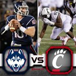 Its GAMEDAY! The #Bearcats take on UConn at 8pm on @CBSSportsNet #BeatUConn http://t.co/ISJ3b6EsgC