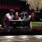 Vandaag heeft het hotel bezoek gehad van de Pieten! Zaterdag 29 november vanaf 17:30 uur zijn zij er weer met de band http://t.co/muJJOEuZgT