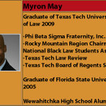 BREAKING: FSU shooter Myron May went to FSU, Texas Tech, Phi Beta Sigma member - per African Amer Colleg. Schol. Fund http://t.co/rUS7K859is