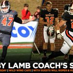 Make sure you stop by Wild Wing Cafe tonight at 6:30 p.m. to catch the 2014 finale of the @bobby_lamb coachs show! http://t.co/F0zUIYoStN