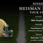 """@NissanUSA: #HeismanHouse is making a stop at #Baylor this weekend! Help us break in McLane Stadium http://t.co/95BqU2vF0o"" #SicOSU"