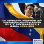 "#LaCitaNTN24 de .@leopoldolopez sobre la ""idoneidad"" de la Constituyente http://t.co/YGgPr1yjAw http://t.co/MOXKlEcC32"