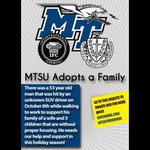 Lets unite this holiday season for Vernons Family @mtsuadoptsafam http://t.co/WqWCUoWmzA
