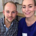 Nå er @AndersKLangset sminket og klar for #NRKDebatt -Utdanner for mange med mastegrad i Norge? #debatten @NRKDebatt http://t.co/OvRgBk5WDf