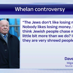 #WAFC chairman Dave Whelan has been accused of anti-Semitism & has played down Mackays previous comments. #SSNHQ http://t.co/y5ndhu3hCv