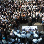 Thousands of people, Jews, Druze & others paid tribute yesterday to hero policemen Zidan Saif, killed by terrorists. http://t.co/87aBrwFvBw
