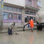 Yağan yağmur sonrası. Burası Gündoğdu Büyükşehir Belediyesi CALISIYOR! !! @mdunlu @serhanariman http://t.co/CNTwWC73NA