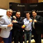 ¡Gran evento en Dubai con CVSTOS! / Great event in Dubai with CVSTOS! Thanks for the hospitality! http://t.co/19zn9n4cRY
