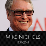 RIP #MikeNichols. I was lucky to work on 2 films of his #PrimaryColors & #AngelsInAmerica. #Legend http://t.co/AsZ8X4ldul