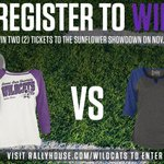 #KState fans, Rally House is giving away 2 tickets to the Sunflower Showdown! Enter here: http://t.co/orRHENzbMe http://t.co/dRElEqN6YO