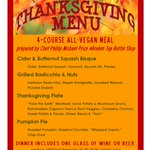 #Vegan #Thanksgiving @ #BTBS 11/24 @ 6pm. Get your tix in advance! $35. 4 Courses + Beverage! #craftbeer #inbend http://t.co/HiD6YIEZIA