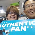 GO SHARKS! Authentic Sharks fans! #authentic fan #SJSharks http://t.co/j0gIwxw4gb