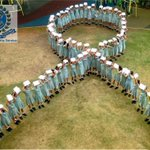 Clayfield College in #Queensland showing their support for #WhiteRibbonDay http://t.co/yzOFaUSbJJ
