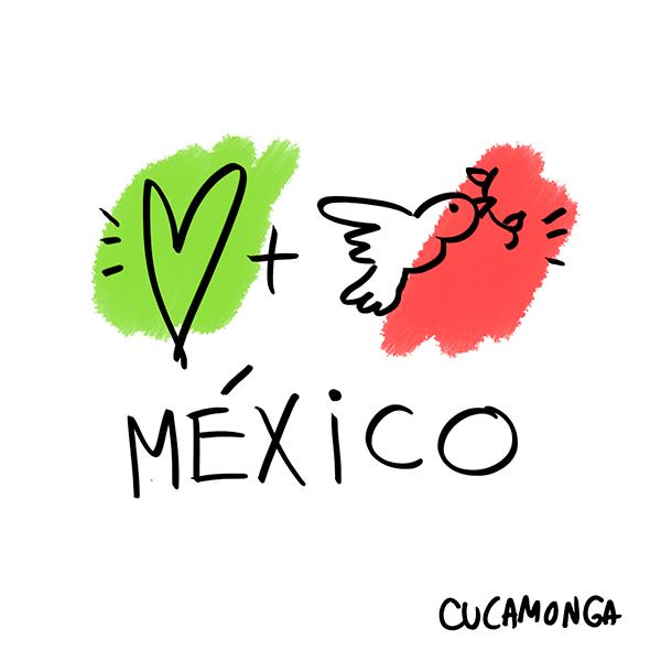 Amor y Paz, México. ✨ http://t.co/rypb7KmfJT