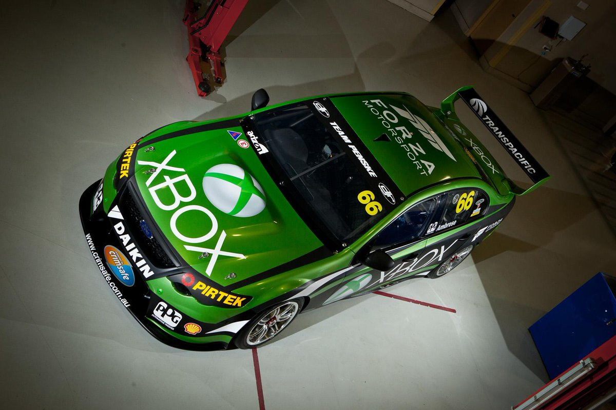 Check out @MarcosAmbrose new ride in V8 SuperCar series. Wish him well in his debut Dec. 5-7 at the Homebush circuit. http://t.co/QOJE9UF1Cy