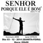 Dia 03/12 tem louvor no Corinthians de Araçatuba http://t.co/k9Z7lqE7kj COMPAREÇA E DIVULGUE http://t.co/3mTJoRMb6s