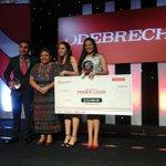 """""""@OdebrechtEC: Ganadores oficiales del Premio Odebrecht 2014 de desarrollo sustentable http://t.co/N8njYWEnad"""" Felicidades @Ambiental_UEES"""