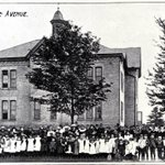 The early Lorne Avenue Public School uncertain of exact date of photo #ldnont http://t.co/SPsZNVCklj