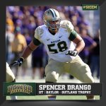 Congrats to Spencer Drango on being named 1 of 6 semifinalists for the @outlandtrophy. #SicEm http://t.co/n9UCrOg3Gu
