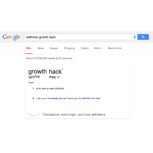 Define Growth Hacking: http://t.co/WRw1sFfxx0