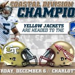 Your Coastal Division Champions need YOU to Swarm Charlotte! Full ticket information: http://t.co/hhEDURmrQU http://t.co/neb4oSAj4o