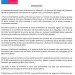 Aquí el acuerdo del @MagisterioNac con el @Mineduc en que se da respuesta al 100% de la #AgendaCorta #ParoDocente :) http://t.co/0PC06zTkj8