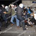 """""""@lajornadaonline: Policías golpean a asistentes a protesta en Zócalo #20NovMx http://t.co/1zLMIRO4tX"""" Rinde cuentas @JesusRo66690592"""