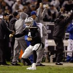 Raiders survive! Derek Carrs big 4th quarter TD drive leads Oakland to 1st victory of season, beat KC, 24-20. http://t.co/frRWszlUrt