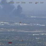 The smoke over SW Sydney isnt from a bush fire. Its from a factory fire at Lansvale. #FRNSW crews on scene. http://t.co/NlUr7tGzSA