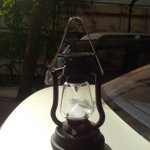 My latest buy, a solar bedside lamp. Keep it out in the sun for an hour n it lights up the whole room. From Coorg :)