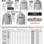 Time to order your 14-15 Spirit Wear see any soccer player, Coach Kwock or Joe M. Bracamonte orders due by 12/1/14 http://t.co/6hxLdiZXks