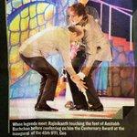 Gem of a person.. A plain simple human being called Rajnikanth.... http://t.co/qsIwGkIzV5