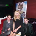 .@PeytonList takes the #EverAfterHigh throne with bro @spencerlist and pal @DylanRSnyder! #Thronecoming #JJHOMECOMING http://t.co/st9s2PbdUm