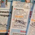 Alle Zeitungen können eine Quelle korrekt zitieren - nur eine nicht. Sie werdens nie erraten, welche. #fellnerismus http://t.co/05S2ddHiC9