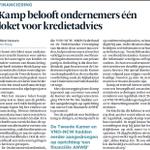 Minister Kamp belooft bedrijven één loket voor kredietadvies & reductie regeldruk met regelhulpen en @Ondernemingsdos http://t.co/BTbfvGPfVw